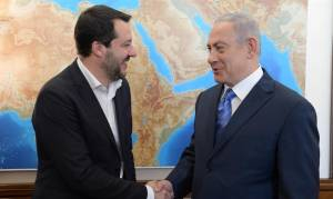 'WHEN I AM PM, ITALY WILL RECOGNIZE J'LEM AS ISRAEL'S CAPITAL'