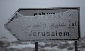 SNOW IN JERUSALEM?
