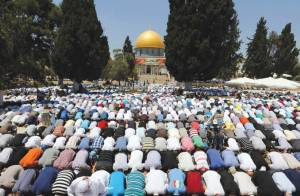 Al-Aqsa Preacher: Jerusalem Will Soon Be Capital of Global Caliphate