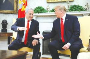Trump: I Will Release the Middle East Peace Plan Before Netanyahu Visit