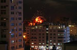 IDF Attacks Hamas Targets in Gaza in Response to Incendiary Balloons