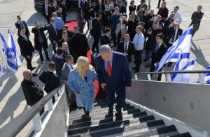 NETANYAHU SAYS HE AND TRUMP WILL 'MAKE HISTORY' THIS WEEK