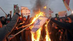 Iranian Factory Thrives on Making Israeli and US Flags for Burning