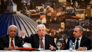 THE PALESTINIANS' BLUFF HAS BEEN CALLED