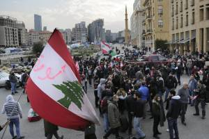 EXPERTS: NEW HEZBOLLAH-BACKED CABINET UNLIKELY TO CALM PROTESTS IN LEBANON