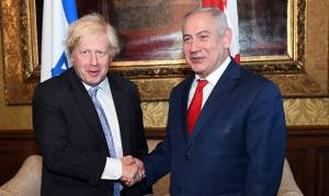 British PM Tells Netanyahu He Supports US Peace Efforts