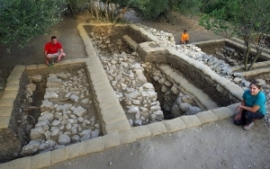 BIBLICAL SITE TIED TO ARK OF THE COVENANT UNEARTHED AT CONVENT IN CENTRAL ISRAEL