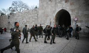AFTER ATTACKS, ISRAEL TIGHTENS SECURITY IN JERUSALEM, JUDEA AND SAMARIA