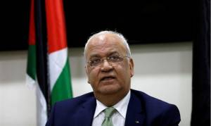 Erekat: US Peace Plan, Not PA Incitement, Led to Violence