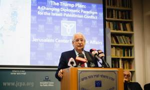 DAVID FRIEDMAN: WE'RE NOT THREATENING ISRAEL, WE'RE JUST ASKING FOR PATIENCE