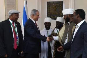 CABINET APPROVES NETANYAHU'S PLAN TO HELP 400 ETHIOPIANS IMMIGRATE TO ISRAEL