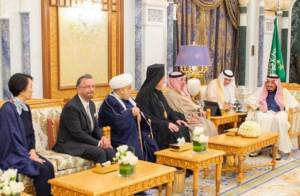 Saudi King Salman Hosts Rabbi in Official Residence for First Time