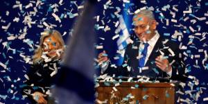 NETANYAHU CLAIMS 'ENORMOUS VICTORY,' PLEDGES TO FORM 'NATIONALIST GOVERNMENT