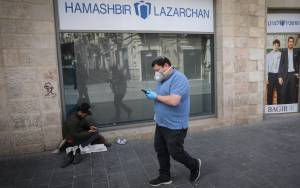 FOR ISRAEL'S HOMELESS, SHELTERS BECOME A HAVEN FROM PANDEMIC