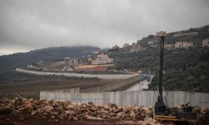IDF IDENTIFIES DAMAGE TO LEBANON BORDER FENCE