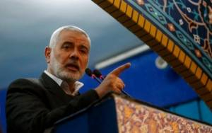 Hamas Leader Haniyeh 'Optimistic' About Chance for Prisoner Sway with Israel