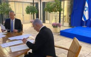 After More Than Yearlong Impasse, Netanyahu and Gantz Agree to Form a Government