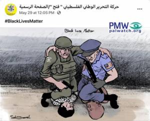 PALESTINIAN AUTHORITY EXPLOITS GEORGE FLOYD'S DEATH FOR ANTI-ISRAEL INCITEMENT