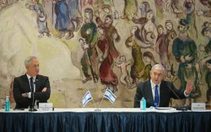 Netanyahu Fears Gaps with Gantz will Erode US Support for Annexation -Report
