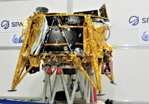 ISRAEL'S FIRST LUNAR SPACECRAFT HEADING TO CAPE CANAVERAL FOR LAUNCH
