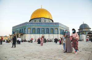 PA'S GRAND MUFTI ISSUES FATWA BANNING MUSLIMS FROM PRAYING AT AL-AQSA