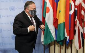Pompeo Aims Fury at Europe as Iran Sanctions Snapback Bid Rebuffed