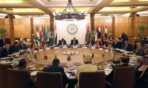 ARAB LEAGUE: PEACE WITH ISRAEL ONLY IF PALESTINIAN STATE IS ESTABLISHED
