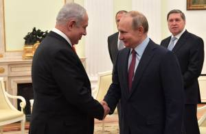 NETANYAHU, PUTIN AGREE TO CONTINUE COORDINATION IN SYRIA