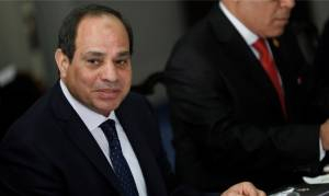 EGYPT'S PRESIDENT WELCOMES ISRAEL-SUDAN NORMALIZATION