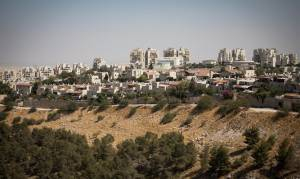 GOVERNMENT PLANS TO AUTHORIZE 1,700 HOUSING UNITS ALREADY BUILT IN JUDEA & SAMARIA