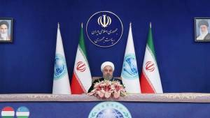 IRAN'S ROUHANI ACCUSES 'MERCENARY' ISRAEL OF SCIENTIST ASSASSINATION
