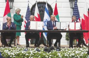 THE ABRAHAM ACCORDS DOMINO EFFECT WILL LEAD TO MORE PEACE DEALS