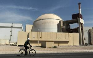 IRAN SAYS HAS 'FINGER ON TRIGGER' TO ENRICH URANIUM TO 20% ' AS SOON AS POSSIBLE'
