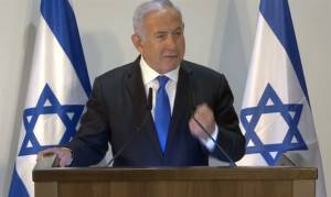 NETANYAHU: 'I'VE ALREADY MADE MY DECISION ON GOLAN HEIGHTS'
