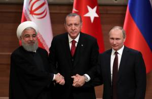 IRAN, RUSSIA AND TURKEY SIGNAL GROWING ALLIANCE