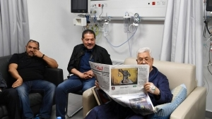 ISRAELI DOCTOR HELPED SAVE PALESTINIAN ABBAS'S LIFE