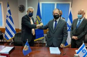 ISRAEL AND GREECE SIGN THEIR LARGEST-EVER DEFENSE PROCUREMENT DEAL