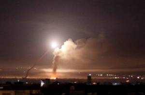 ISRAEL BOMBS DAMASCUS AFTER SYRIAN MISSILE LANDS NEAR NUCLEAR REACTOR