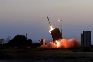 ISRAEL RETALIATES AFTER SYRIAN MISSILE LANDS NEAR NEGEV NUCLEAR RESEARCH CENTER