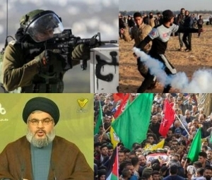 IRAN, HEZBOLLAH, HAMAS USE THREATS OF ESCALATION TO MEDDLE IN ISRAELI'S ELECTION