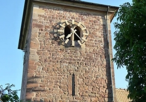 HITLER'S CHURCH BELL REMAINS IN PROTESTANT BELL TOWER
