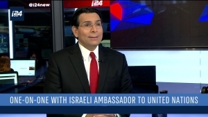 EXCLUSIVE: DANON SAYS UN ENVOYS 'SHOCKED' IN VISIT TO ISRAELI-LEBANESE BORDER