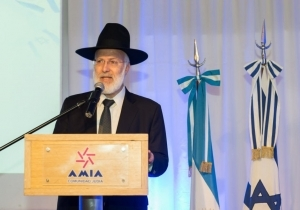 CHIEF RABBI OF ARGENTINA VIOLENTLY BEATEN IN HIS HOME