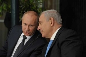 PM NETANYAHU ARRIVES IN MOSCOW FOR TALKS WITH PUTIN ON SYRIA, IRAN