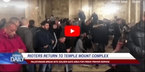 RIOTERS RETURN TO TEMPLE MOUNT COMPLEX