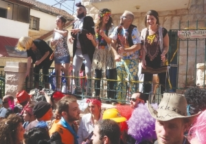 DANCING TO THE RHYTHM OF PURIM