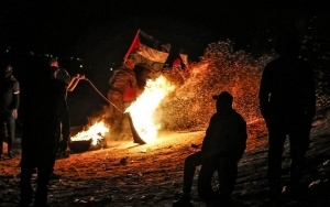 Palestinian Reported Killed During Overnight Riots in Gaza