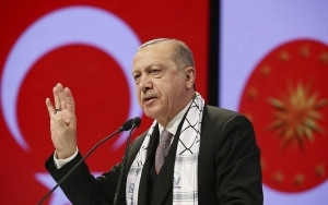 Erdogan Again Likens Israel to Nazi Germany, says it Commits 'Cultural Genocide'