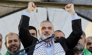 COULD HAMAS CHIEF WIN CONTROL OF PALESTINIAN AUTHORITY?
