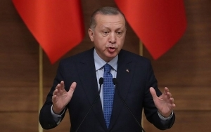 ERDOGAN TELLS TURKISH YOUTHS: 'JEWS IN ISRAEL' BEAT PALESTINIAN WOMEN, KIDS